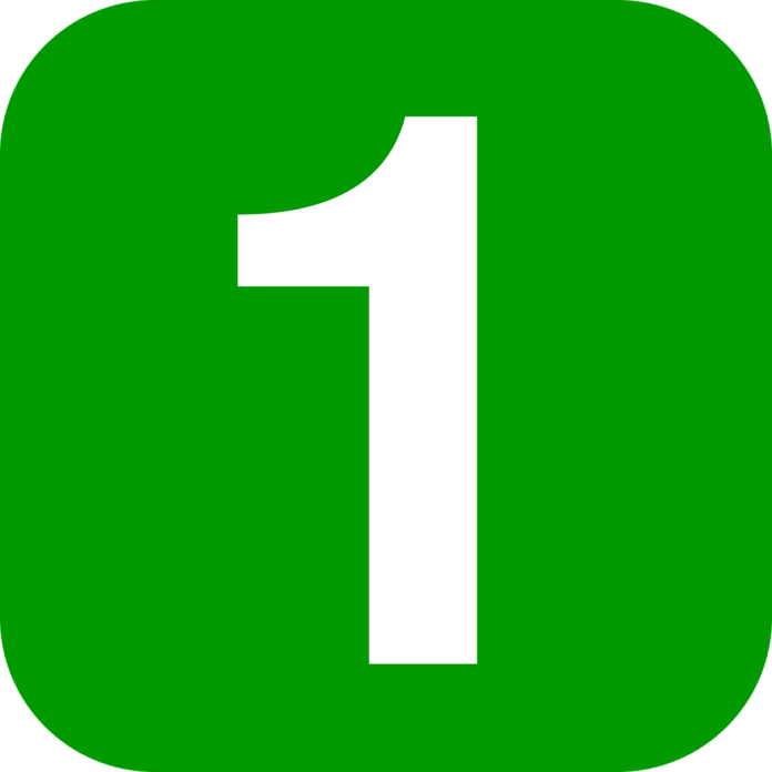 one number