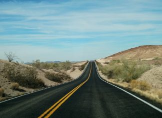 two-lane roads